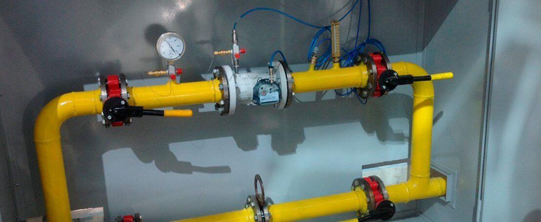 Instalación de Armarios Regulación de Gas