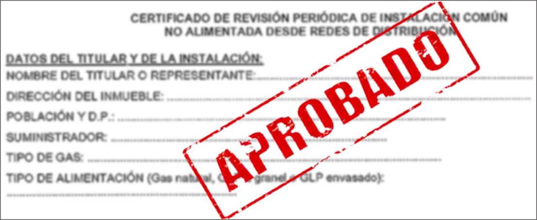 Certificados para Instalar Gas