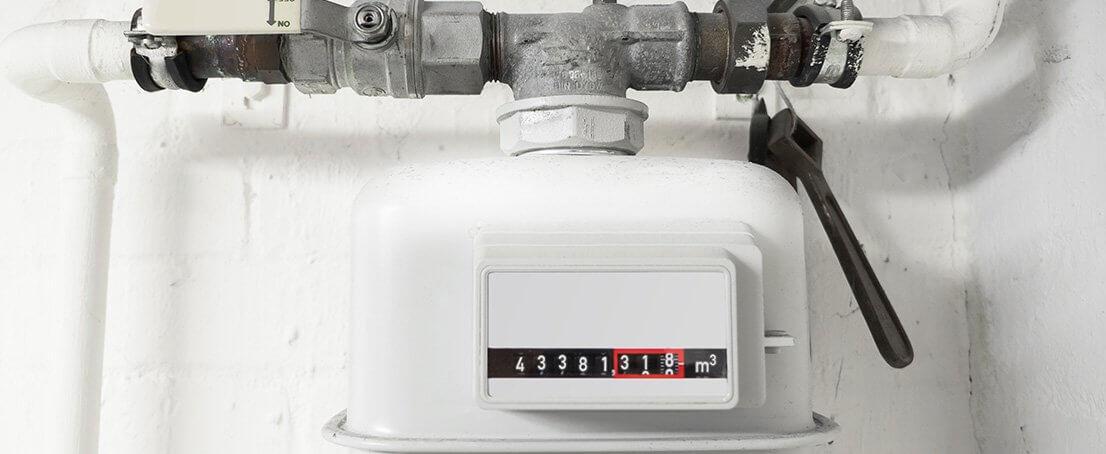 Instalación y revisión de contadores de gas