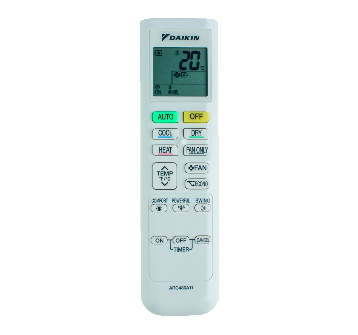 aire acondicionado conjunto split daikin inverter mando a diastanacia arc480a11 modelo comfora txp25m instalacion incluida caseragua