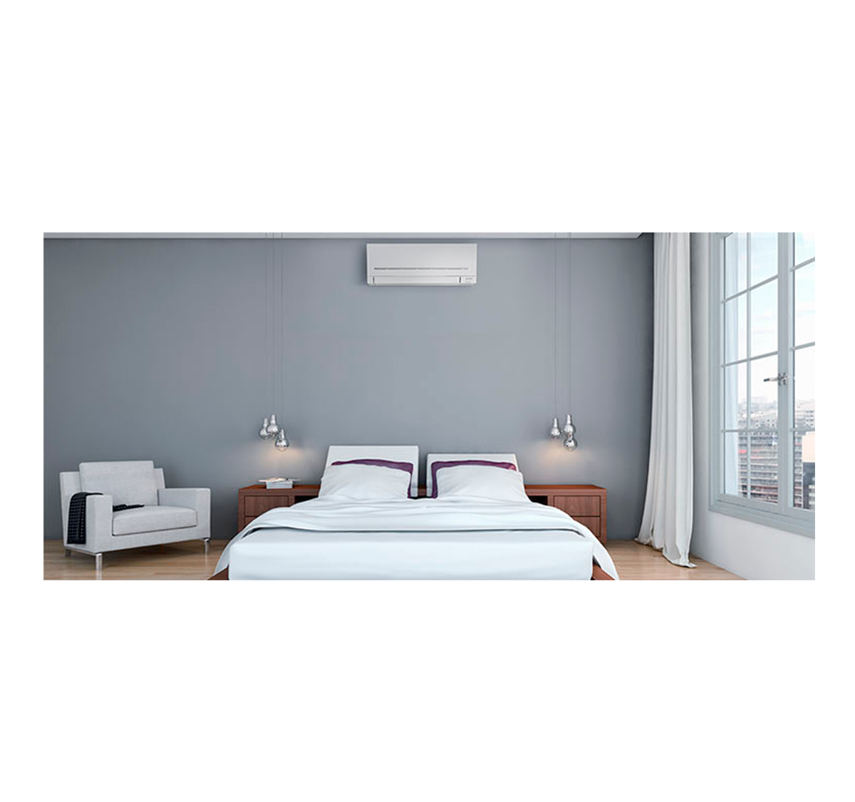 aire acondicionado conjunto split mitsubishi electric inverter serie msz ap modelo msz ap25vg precio incluido en la instalacion caseragua 02