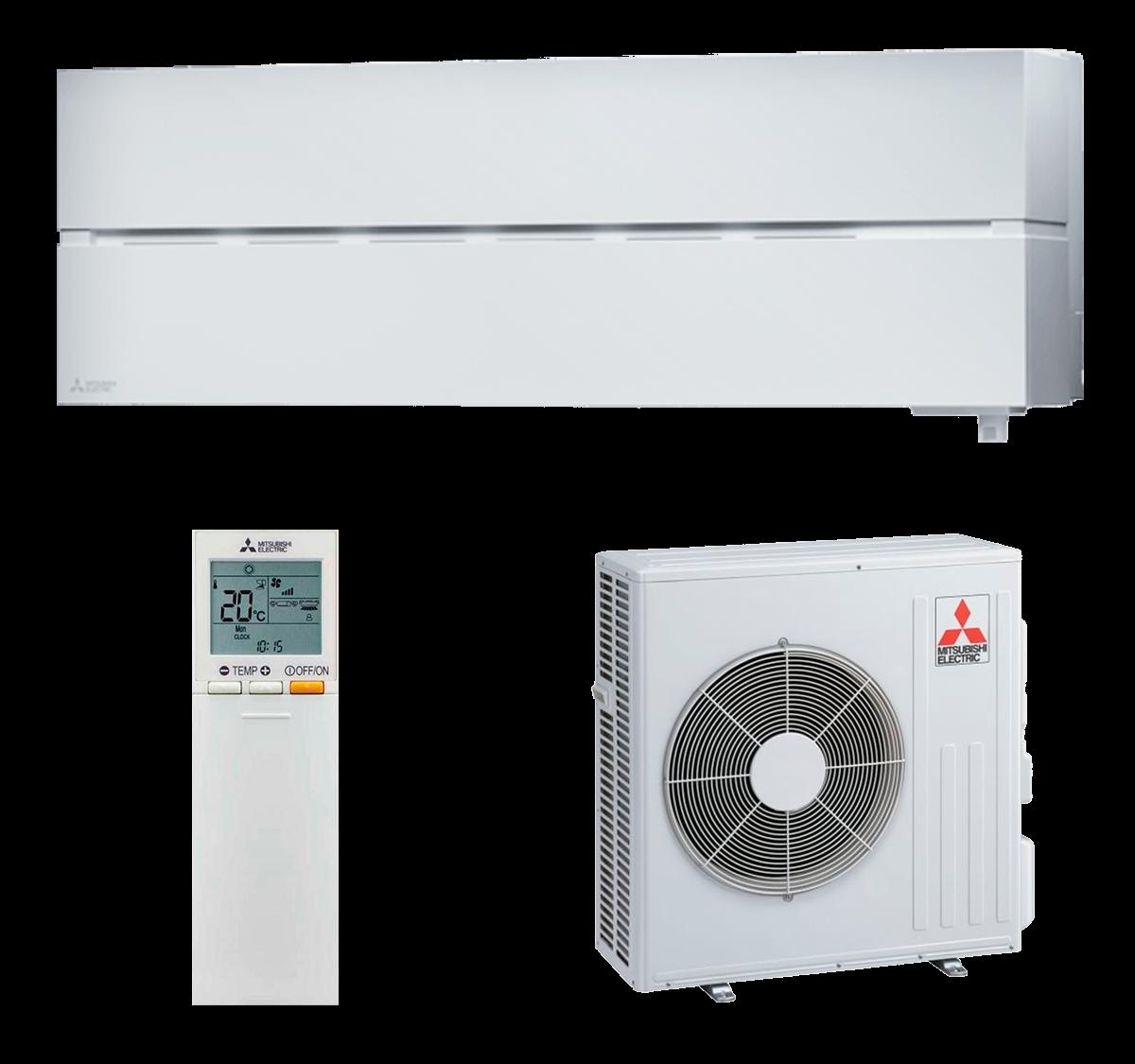 aire acondicionado split blanco mitsubishi electric inverter serie kirigamine style modelo msz ln60vgw precio incluido instalacion caseragua 03