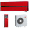 aire acondicionado split rojo mitsubishi electric inverter serie kirigamine style modelo msz ln60vgr precio incluido instalacion caseragua 01