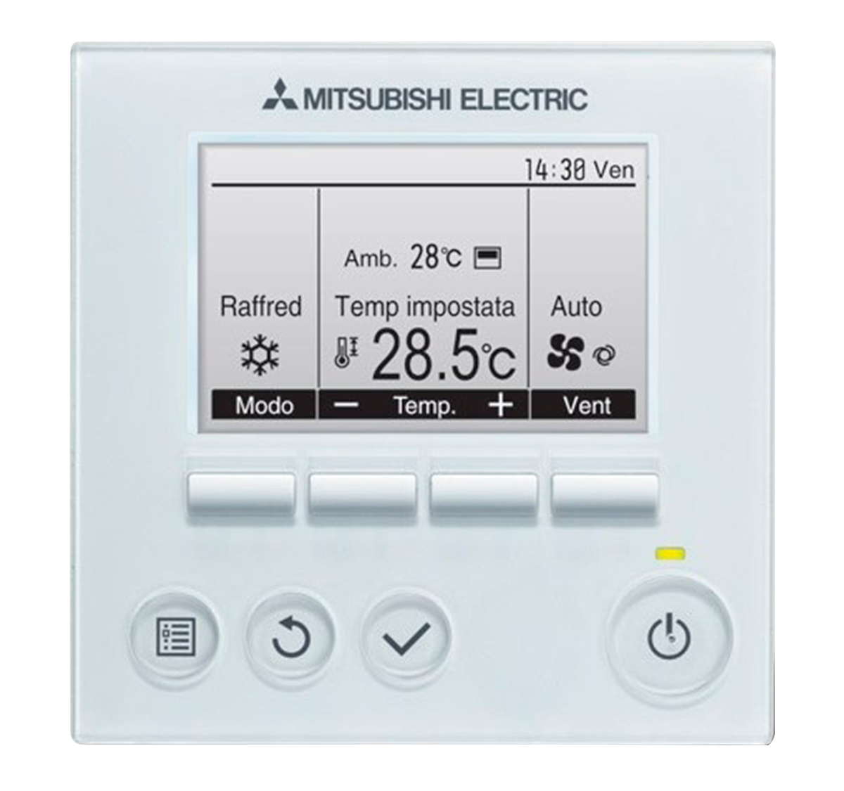 mitsubishi electric inverter mando a diastanacia par 33maa gama mr slim modelo mspez 35vja
