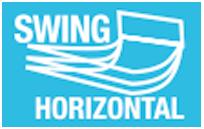 MODO SWING HORIZONTAL - Modo que controla la oscilación continua de las lamas de forma horizontal, climatizando más rápidamente cualquier estancia.