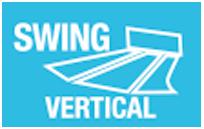 MODO SWING VERTICAL - Modo que controla la oscilación continua de las lamas de forma vertical, climatizando más rápidamente cualquier estancia.