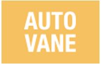 AUTO VANE - La rejilla de salida del aire se cierra automáticamente cuando el equipo no funciona.
