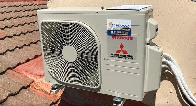donde colocar la unidad exterior del aire acondicionado