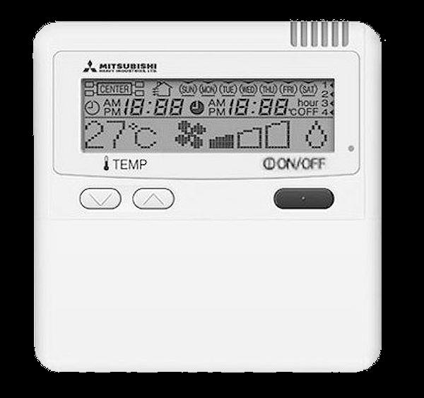 Mando A Distancia Para Split Cassette Mitsubishi Heavy Industries Modelo-RC-E5