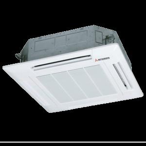 Split Cassette 90 X 90 Cm Inverter Smart Bomba De Calor Mitsubishi Heavy Industries GAMA SEMI INDUSTRIAL PAC-FDT100VH