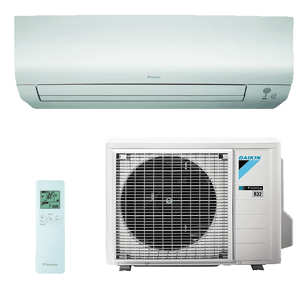 Split Pared 1X1 Daikin Bluevolution Inverter Bomba De Calor Serie Perfera-TXM35N1