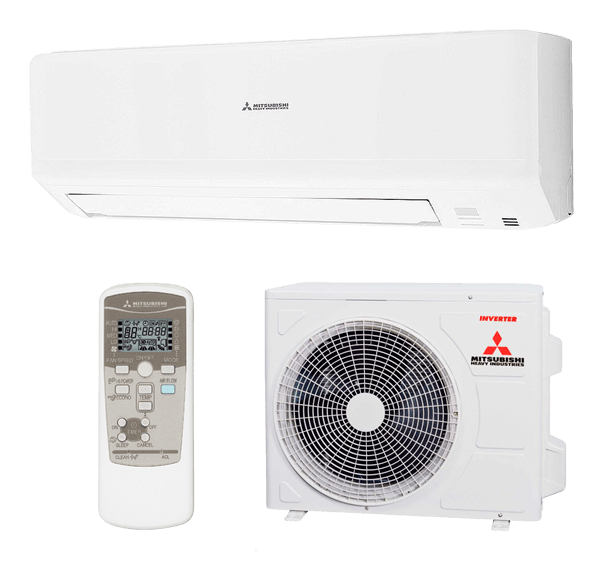 Split Pared 1X1 Inverter Bomba De Calor Mitsubishi Heavy Industries Serie SMART-SRK25ZSP-W