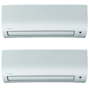 Split Pared 2X1 Daikin Bluevolution Inverter Equipo Interior Serie Comfora-Multisplit FTXP25M+FTXP35M