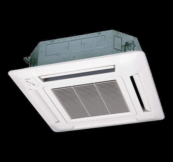Equipo Interior Aire Acondicionado Cassette Inverter Compacto LV Fujitsu Serie LV AUY71UIA-LV
