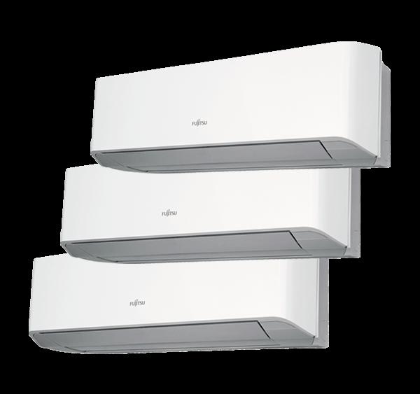 Multisplit Aire Acondicionado Equipo Interior Fujitsu Serie 2-8 ASY20MI-LMC+ASY35MI-LMC+ASY35MI-LMC