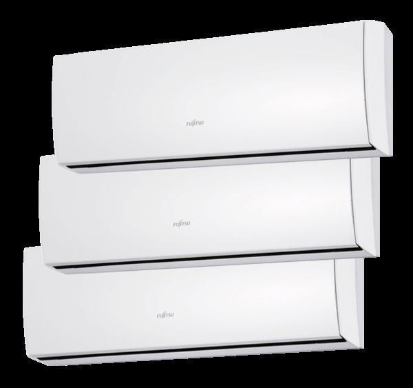 Multisplit Aire Acondicionado Equipo Interior Fujitsu Serie 2-8 ASY20MI-LU+ASY25MI-LU+ASY35MI-LU