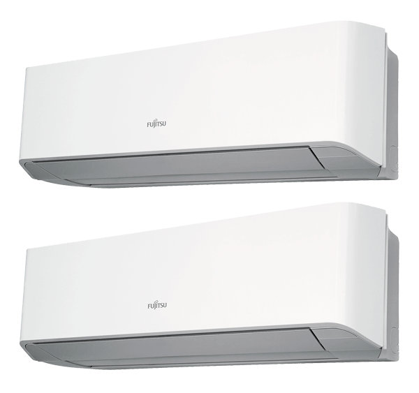 Multisplit Aire Acondicionado Equipo Interior Fujitsu Serie 2-8 Multisplit ASY25MI-LMC+ASY35MI-LMC