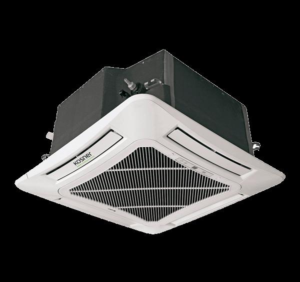 Equipo Interior Cassette Inverter Compacto Kosner Modelo KSTI 36-100 CS