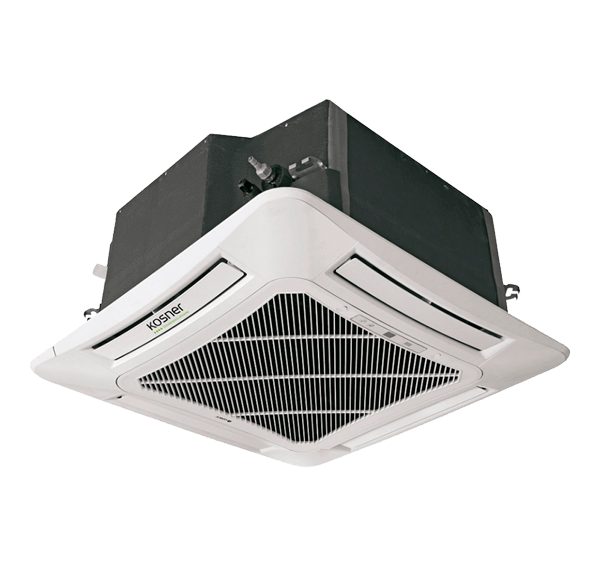 Equipo Interior Cassette Inverter Compacto Kosner Modelo KSTI 42-125 CS