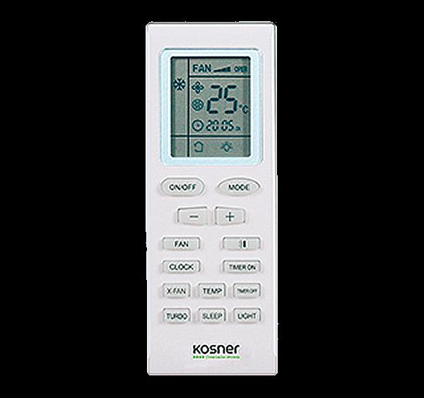 Mando A Distancia Para Split Cassette Kosner Modelo KN-03