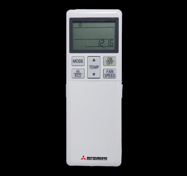 Mando A Distancia Para Split Cassette Mitsubishi Heavy Industries Serie Hyper Inverter Modelo RCN-T-5AW-E2