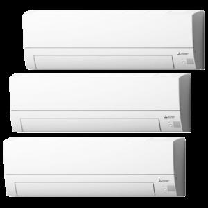 Multisplit Aire Acondicionado Equipo Interior Mitsubishi Electric Modelo MSZBT20 -VGK-MSZBT20-VGK-MSZBT35-VGK