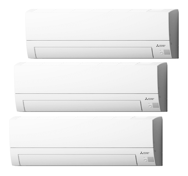Multisplit Aire Acondicionado Equipo Interior Mitsubishi Electric Modelo MSZBT20-VGK-MSZBT25-VGK-MSZBT35-VGK