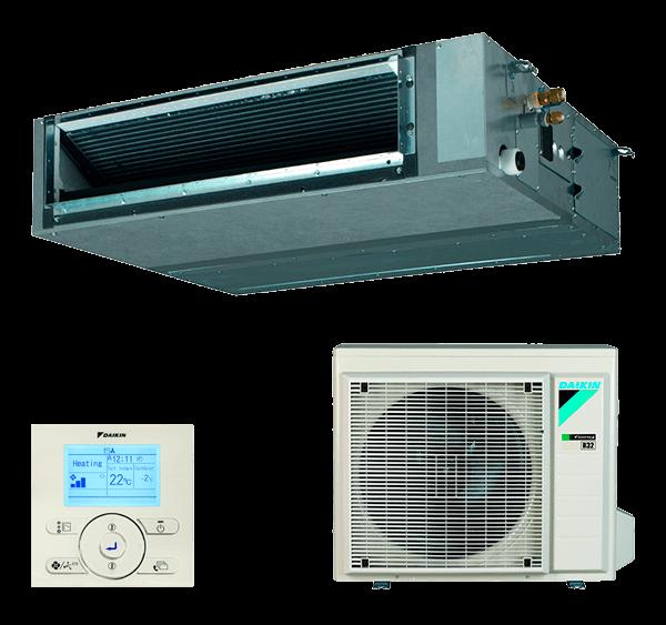 Conjunto Aire Acondicionado por Conductos Inverter Daikin Serie SkyAir Advance - Modelo BA50A
