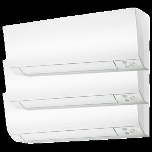 Multisplit Aire Acondicionado Equipo Interior Daikin Serie Comfora FTXM35-N+FTXM20-N+FTXM20-N