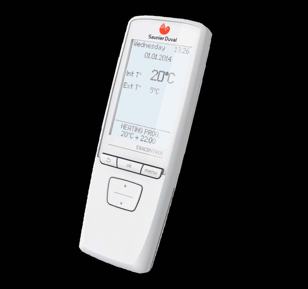Termostato-modulante-saunier-duval-Exacontrol-E7-R-mando-a-distancia