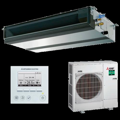 aire acondicionado conductos mitsubishi electric inverter gama mr slim modelo mspez 140vja precio incluido instalacion