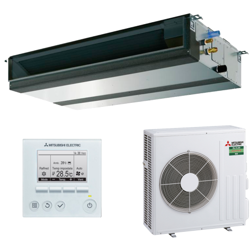 aire acondicionado conductos mitsubishi electric inverter gama mr slim modelo mspez 71vja