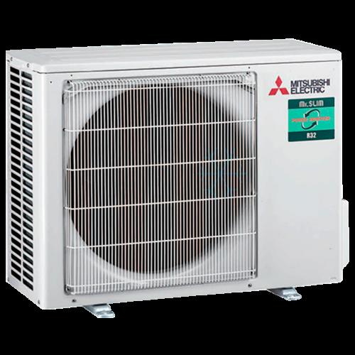 aire acondicionado conductos unidad exterior mitsubishi electric inverter suz m35va gama mr slim modelo mspez 35vja