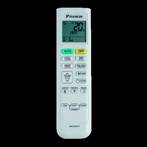 aire acondicionado conjunto split daikin inverter mando a diastanacia arc480a11 modelo comfora txp35m instalacion incluida caseragua