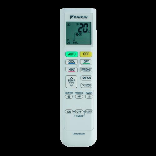 aire acondicionado conjunto split daikin inverter mando a diastanacia arc480a11 modelo comfora txp50m instalacion incluida caseragua
