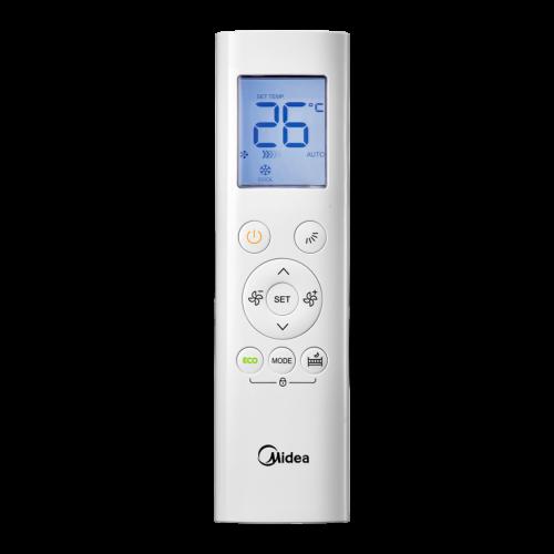 aire acondicionado conjunto split midea inverter mando a diastanacia rg58e3 bgef modelo vertu plus 35 12 n8