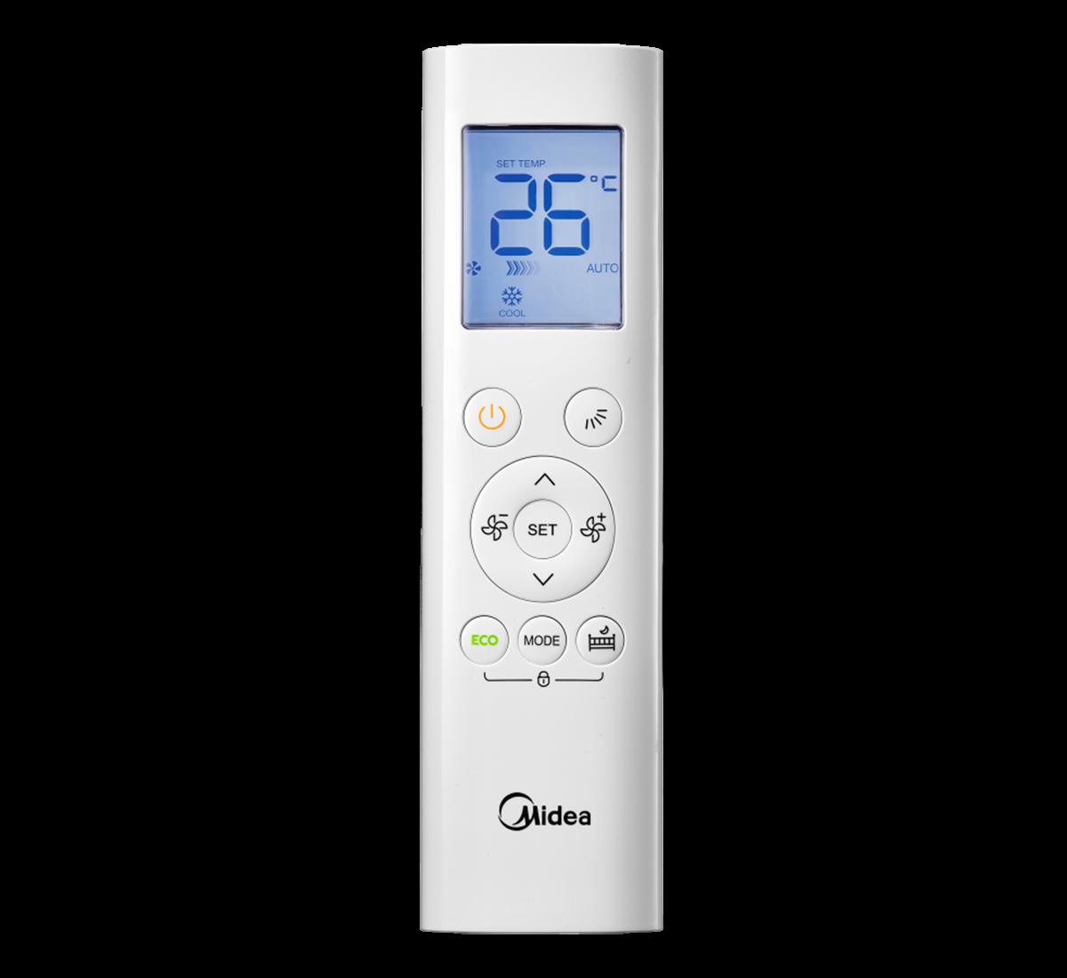 aire acondicionado conjunto split midea inverter mando a diastanacia rg58e4 bgef modelo vertu plus 26 09 n8 instalacion incluida caseragua