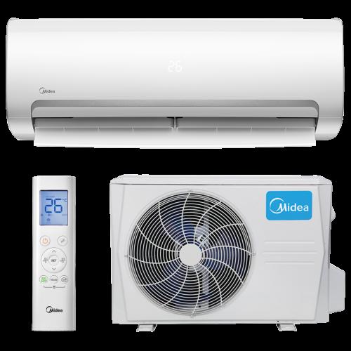 aire acondicionado conjunto split midea inverter modelo mission ii 2609n8 instalacion incluida caseragua 01