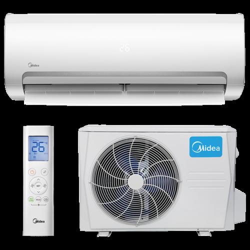 aire acondicionado conjunto split midea inverter modelo mission ii 3512n8 instalacion incluida