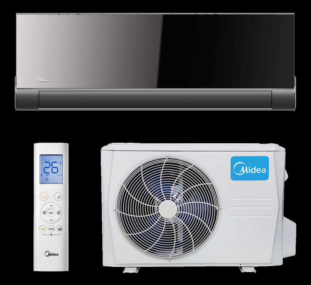 aire acondicionado conjunto split midea inverter modelo vertu plus 26 09 n8 instalacion incluida caseragua 01