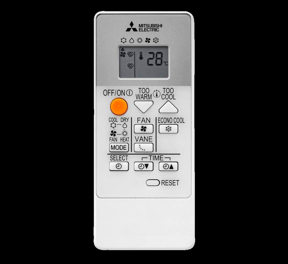 aire acondicionado conjunto split mitsubishi electric inverter mando a diastanacia serie msz hr modelo msz hr25vf precio incluido en la instalacion caseragua