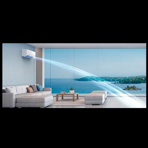 aire acondicionado conjunto split mitsubishi electric inverter serie msz ap modelo msz ap50vg precio incluido instalacion caseragua 04