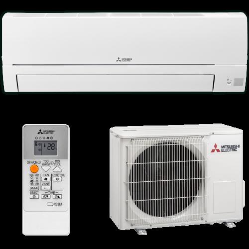 aire acondicionado conjunto split mitsubishi electric inverter serie msz hr modelo msz hr35vf precio incluido en la instalacion caseragua