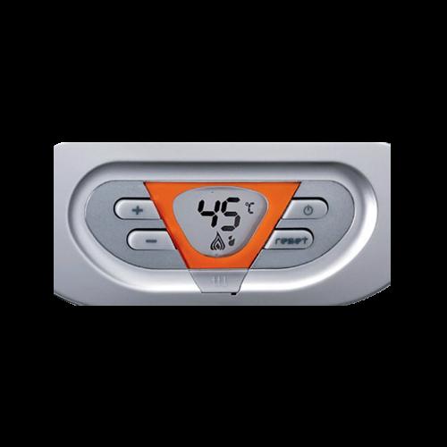 calentador-estanco-a-gas-cointra-premium-cpe-17-t-panel-de-control