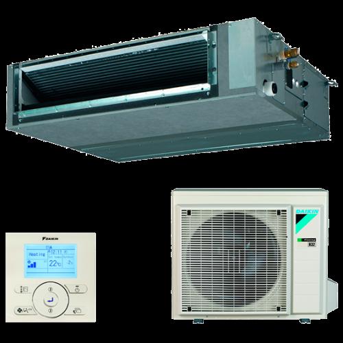 Conjunto Aire Acondicionado por Conductos Inverter Daikin Serie SkyAir Advance - Modelo BA60A