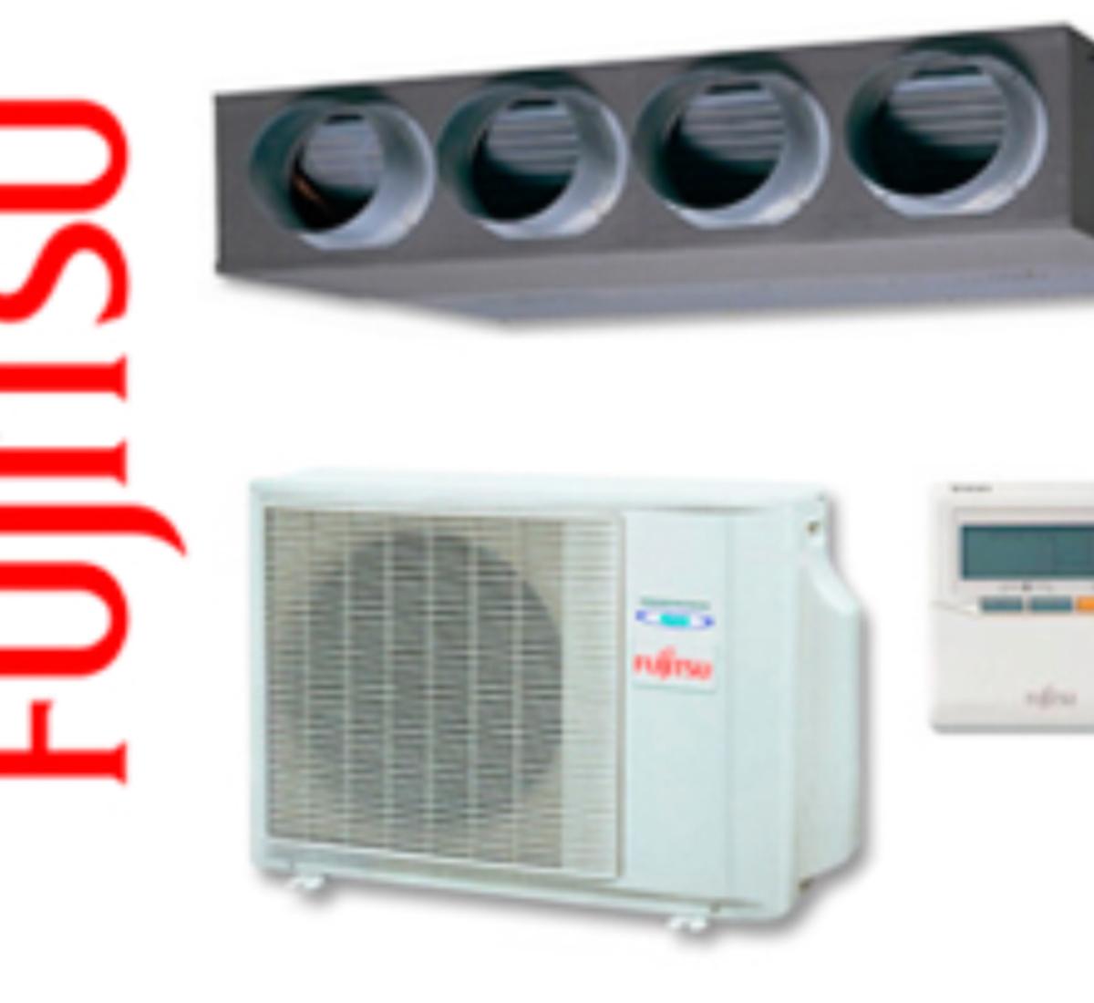 fujitsu conductos aire acondicionado 1