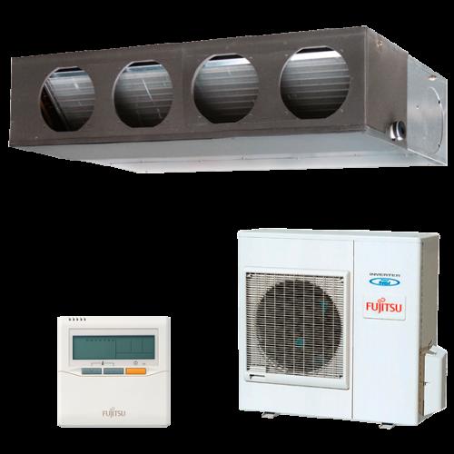 Split Conductos Inverter Fujitsu Serie LM Modelo ACY100UIA-LM