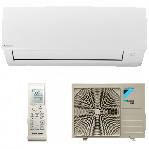 split-pared-1x1-daikin-bluevolution-inverter-bomba-de-calor-serie-sensira-txc50b