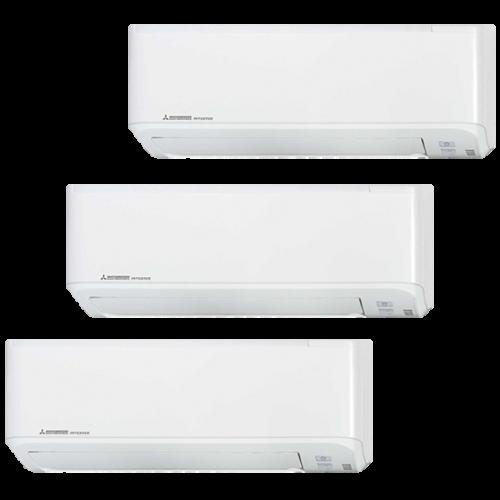 Unidad Interior Aire Acondicionado Inverter 3X1 Mitsubishi Heavy Industries Serie SMART-Multi-Split SKM20ZSP-W+SKM20ZSP-W+SKM35ZSP-W